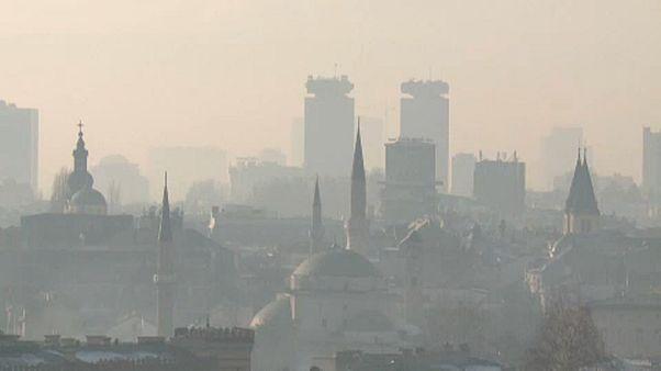 Luftverschmutzung: Dichter Smog hat Balkan-Städte fest im Griff