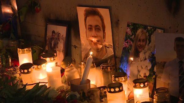 Trauerfeier in Schweden
