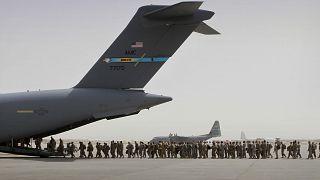 صورة للقوات الأمريكية في الشرق الأوسط