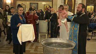 Taufe in Georgien
