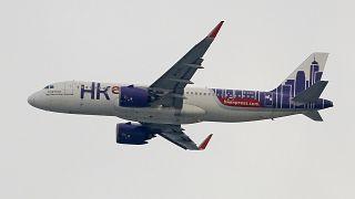 طائرة تابعة لشركة طيران إكسبريس