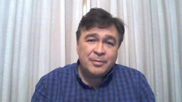 Foto - Entrevista de Tomás Guitarte con Euronews