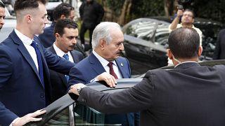 General Haftar in Athen