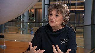 Avrupa Komisyonu'nun uyum ve reformlardan sorumlu üyesi Elisa Ferreira
