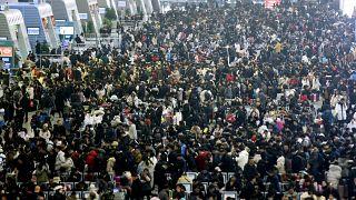 شاهد: أكبر هجرة بشرية في العالم