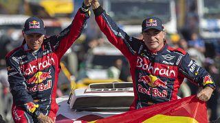 Carlos Sainz conquista terceira vitória no Dakar