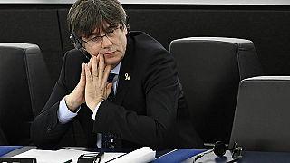 Früher machte er Politik in Katalonien, jetzt ist er Mitglied des Europäischen Parlaments: Carles Puigdemont