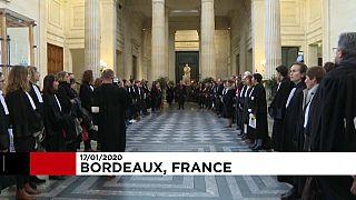 Bordeaux : les avocats contre la réforme de leur régime de retraite