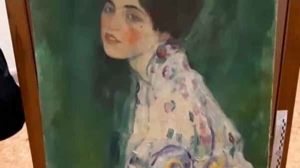 Eredeti a megtalált Klimt-festmény