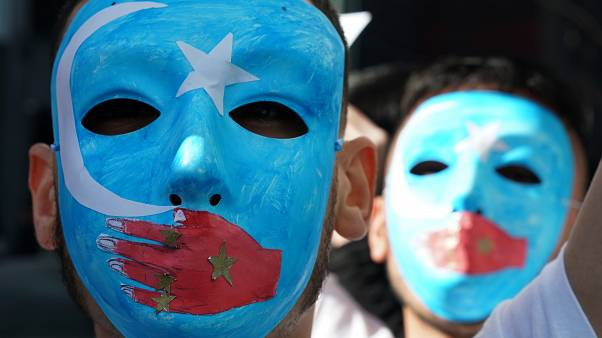 Doğu Türkistan protestosu