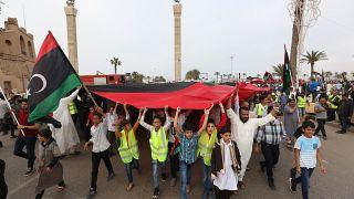Διαδηλώσεις κατά του Ερντογάν στη Λιβύη