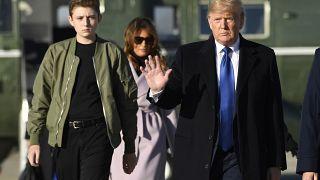Floridai nyaralójában készül Trump a jövő heti impeachment-eljárásra