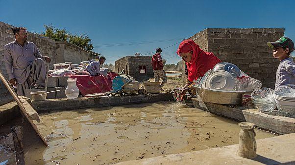 İran'ın güneydoğusundaki Sistan-Beluçistan eyaletinde 9 Ocak'tan bu yana devam eden sel felaketinde üç kişi hayatını kaybetti