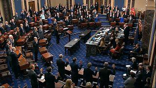 مجلس الشيوخ الأمريكي، مبنى الكابيتول في واشنطن