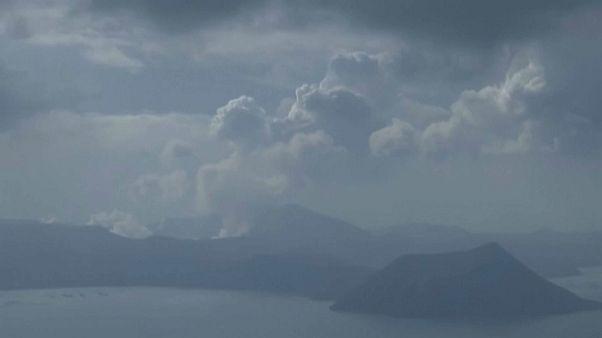 Filipinas se prepara para una posible nueva erupción del Taal