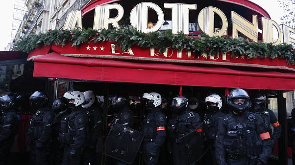 المطعم الفرنسي الشهير لاروتوند في باريس