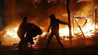 Διαδηλώσεις και βίαια επεισόδια στη Βηρυτό