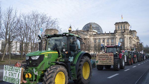 Protestos a favor e contra agricultura mais sustentável