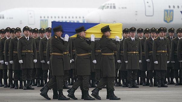 پیکر جانباختگان اوکراینی پرواز ۷۵۲ به وطن بازگشت