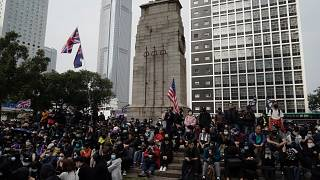 Новые протесты против Пекина в Гонконге