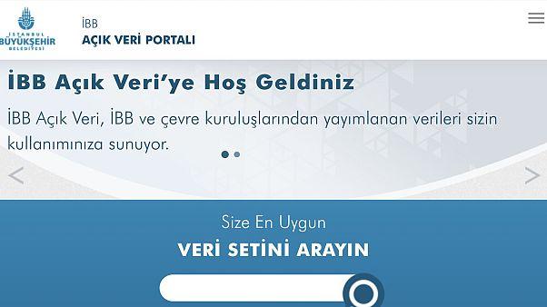 İstanbul Büyükşehir Belediyesi 'Açık Veri Portalı'nı kullanıma açtı