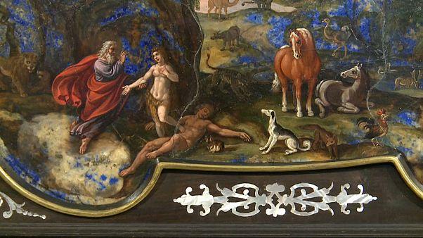 Небо из лазурита: восстановлена редкая работа Антонио Темпесты