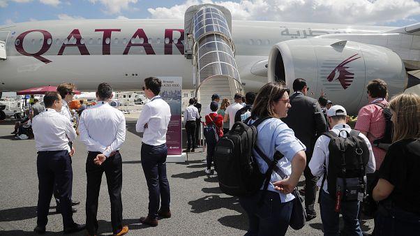 Katar Havayolları yolcu uçağı