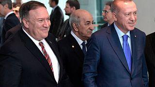 ABD Dışişleri Bakanı Pompeo, Cumhurbaşkanı Erdoğan ile görüştü