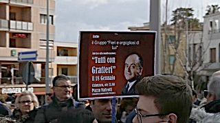 """""""Proteggiamo Gratteri"""". Calabresi in piazza a difesa del procuratore della DDA"""
