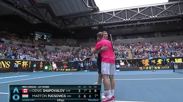 Fucsovics-bravúrral kezdődött az Australian Open