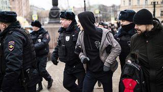 В Москве прошел антифашистский марш памяти