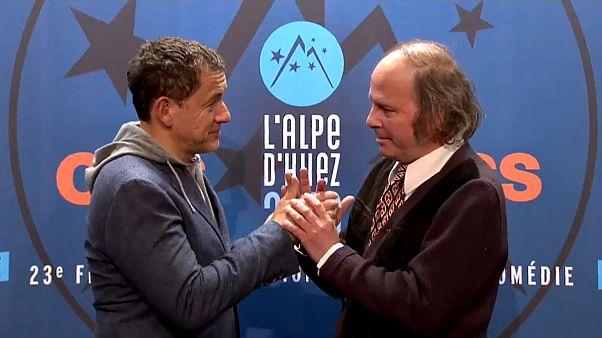 Cinema de rir e chorar por mais em L'Alpe d'Huez