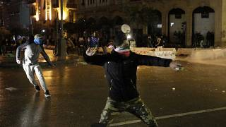 بدء اجتماع أمني برئاسة عون إثر أحداث العنف في لبنان