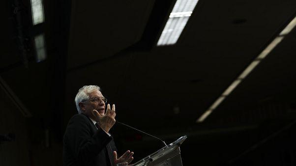 Le chef de la diplomatie de l'UE Josep Borrell
