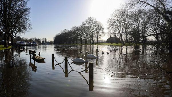 Sol radiante y mucho frío en Reino Unido bajo el anticiclón extremo
