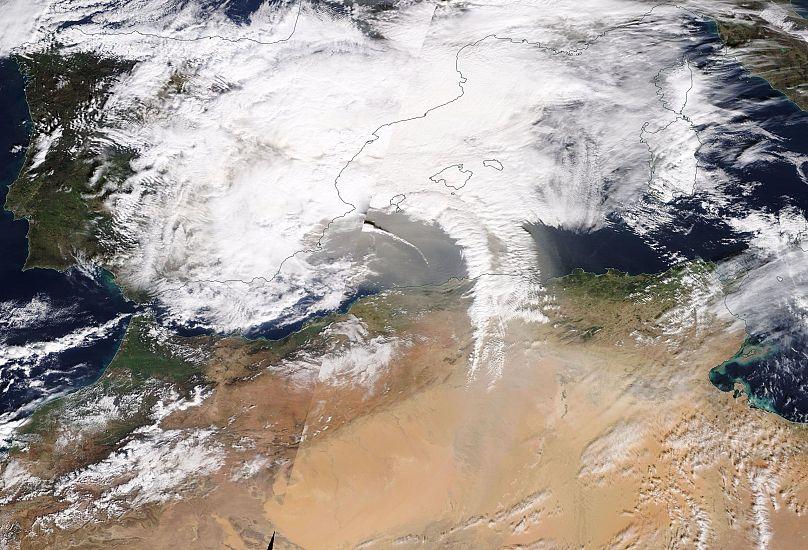 NASA MODIS TERRA