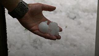 بارش تگرگهایی به بزرگی توپ گلف در استرالیا