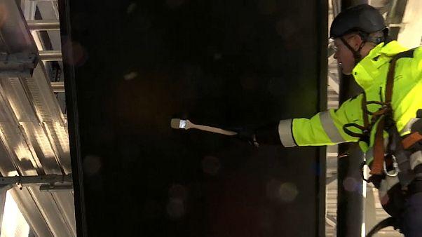 Tizenhárom évig festik az Øresund-hidat