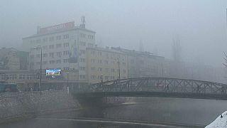 Sarajevo soffocata dallo smog: PM10 11 volte oltre i limiti