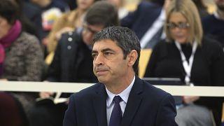 Josep Lluís Trapero durante el juicio celebrado en la Audiencia Nacional