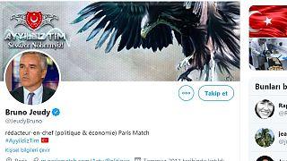 Fransız gazeteci Bruno Jeudy'nin Twitter hesabı Türk hackerler tarafından ele geçirildi