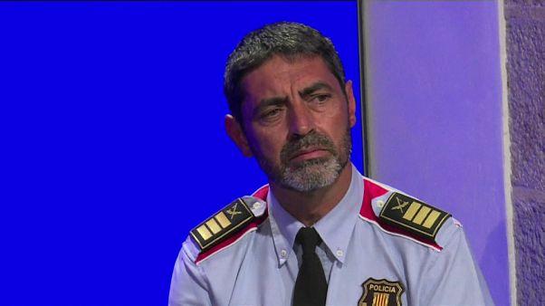 #euroviews : le procès de l'ex-chef de la police catalane à la Une de notre rédaction espagnole