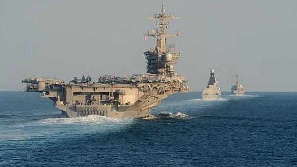 «ماموریت نظارت دریایی اروپایی در تنگه هرمز» با حمایت هشت کشور
