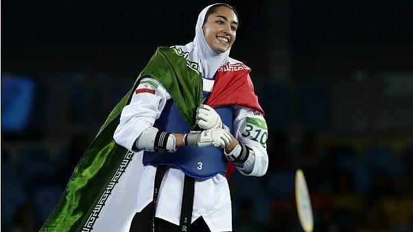 کیمیا علیزاده به آلمان مهاجرت میکند