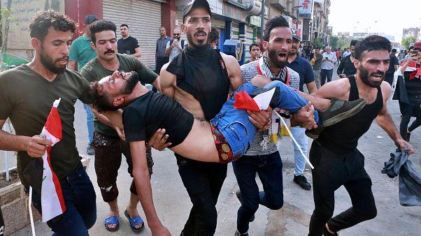 Irak'ta hükümet karşıtı gösterilerde 3 kişi hayatını kaybetti