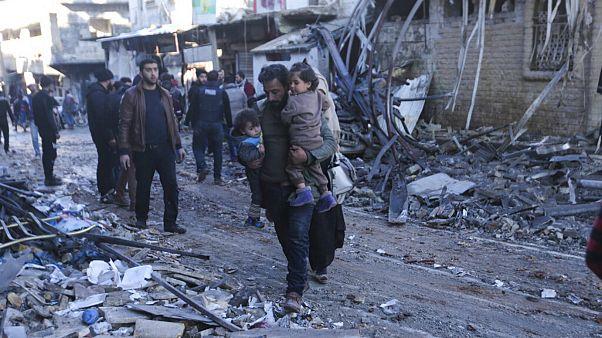 دیده بان حقوق بشر سوریه: در حمله روسیه به استان حلب ۷ غیرنظامی کشته شدند