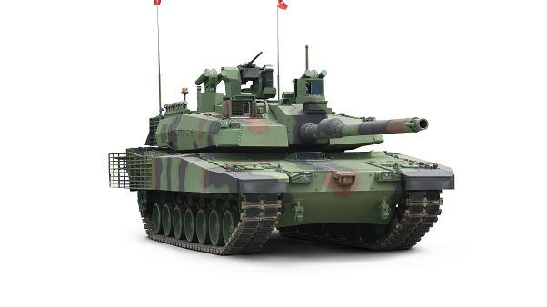 Türkiye'nin milli ana muharebe tankı projesi Altay