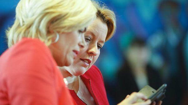 Julia Klöckner mit Franziska Giffey - ARCHIV