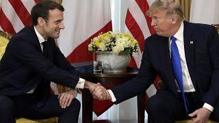 لقاء بين الرئيس الفرنسي و الأمريكي من أجل الوصول الى إتفاق حول الضريبة الرقمية