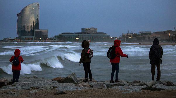 Tempestade 'Gloria' já soma quatro vítimas em Espanha